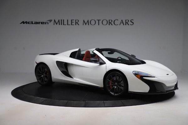 Used 2016 McLaren 650S Spider for sale $159,900 at Maserati of Westport in Westport CT 06880 13