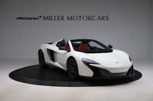 Used 2016 McLaren 650S Spider for sale $159,900 at Maserati of Westport in Westport CT 06880 14