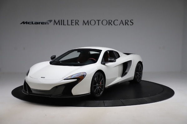 Used 2016 McLaren 650S Spider for sale $159,900 at Maserati of Westport in Westport CT 06880 16