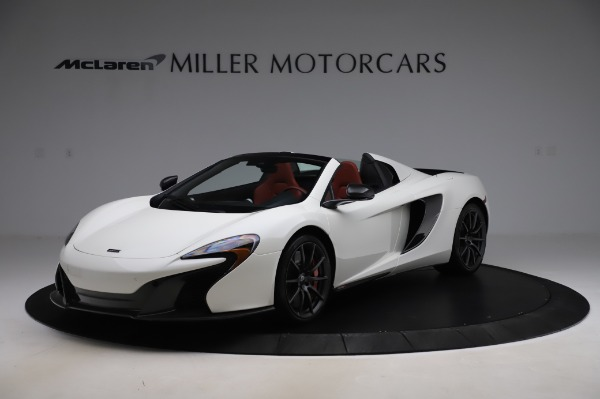 Used 2016 McLaren 650S Spider for sale $159,900 at Maserati of Westport in Westport CT 06880 1