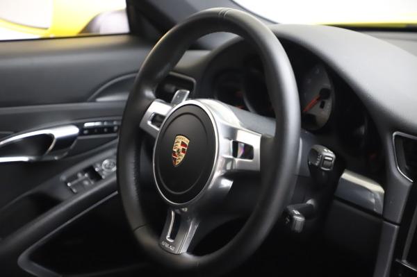 Used 2013 Porsche 911 Carrera 4S for sale $74,900 at Maserati of Westport in Westport CT 06880 23