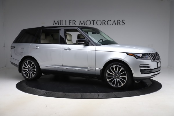 Used 2019 Land Rover Range Rover Supercharged LWB for sale Sold at Maserati of Westport in Westport CT 06880 10