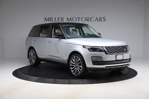 Used 2019 Land Rover Range Rover Supercharged LWB for sale Sold at Maserati of Westport in Westport CT 06880 11