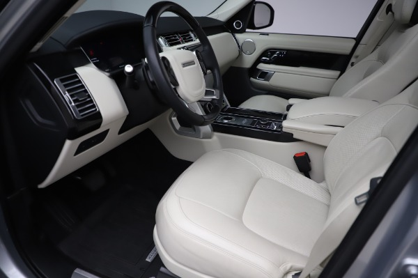 Used 2019 Land Rover Range Rover Supercharged LWB for sale Sold at Maserati of Westport in Westport CT 06880 13