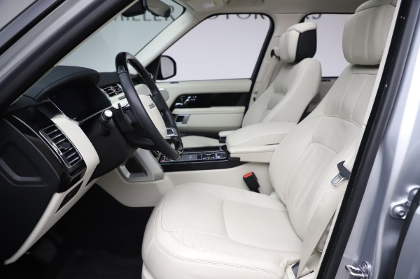 Used 2019 Land Rover Range Rover Supercharged LWB for sale Sold at Maserati of Westport in Westport CT 06880 14