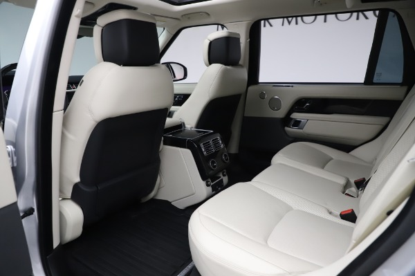 Used 2019 Land Rover Range Rover Supercharged LWB for sale Sold at Maserati of Westport in Westport CT 06880 16