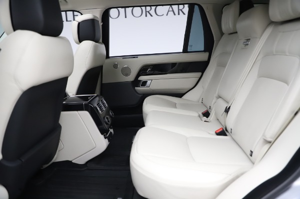 Used 2019 Land Rover Range Rover Supercharged LWB for sale Sold at Maserati of Westport in Westport CT 06880 17