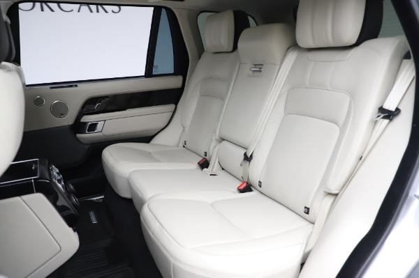 Used 2019 Land Rover Range Rover Supercharged LWB for sale Sold at Maserati of Westport in Westport CT 06880 19