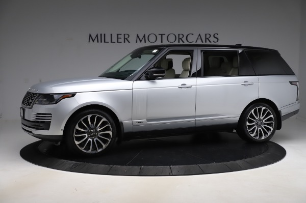 Used 2019 Land Rover Range Rover Supercharged LWB for sale Sold at Maserati of Westport in Westport CT 06880 2