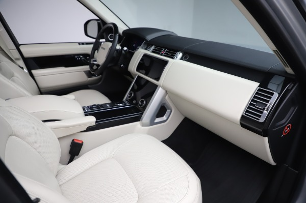 Used 2019 Land Rover Range Rover Supercharged LWB for sale Sold at Maserati of Westport in Westport CT 06880 20