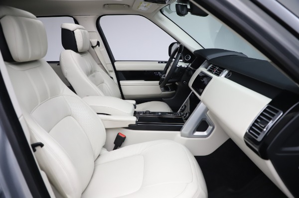Used 2019 Land Rover Range Rover Supercharged LWB for sale Sold at Maserati of Westport in Westport CT 06880 21