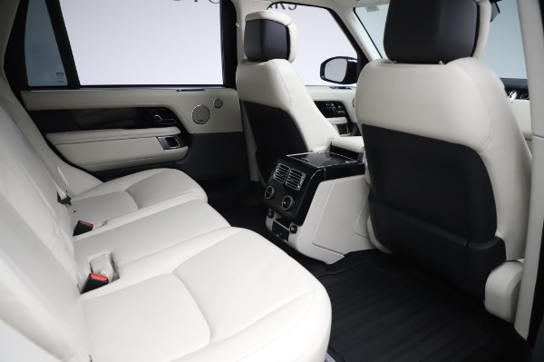 Used 2019 Land Rover Range Rover Supercharged LWB for sale Sold at Maserati of Westport in Westport CT 06880 23