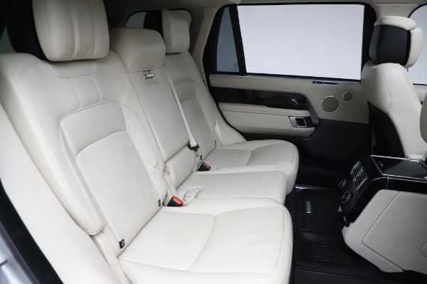 Used 2019 Land Rover Range Rover Supercharged LWB for sale Sold at Maserati of Westport in Westport CT 06880 24
