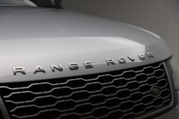 Used 2019 Land Rover Range Rover Supercharged LWB for sale Sold at Maserati of Westport in Westport CT 06880 27