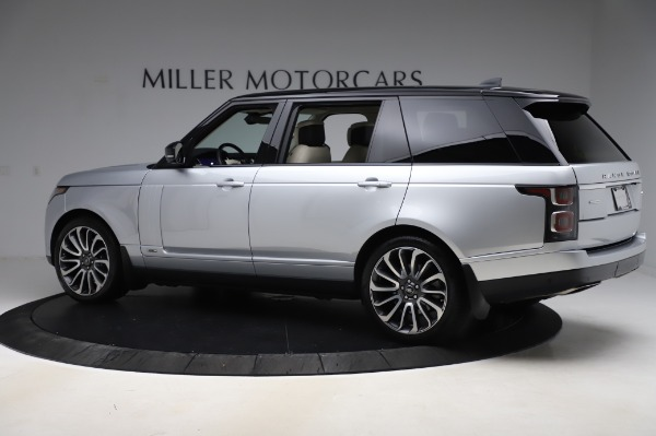 Used 2019 Land Rover Range Rover Supercharged LWB for sale Sold at Maserati of Westport in Westport CT 06880 4