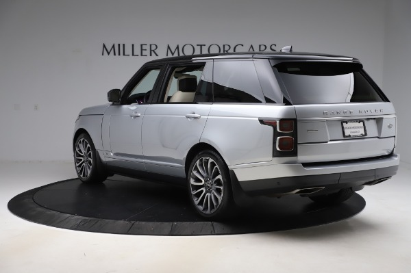 Used 2019 Land Rover Range Rover Supercharged LWB for sale Sold at Maserati of Westport in Westport CT 06880 5