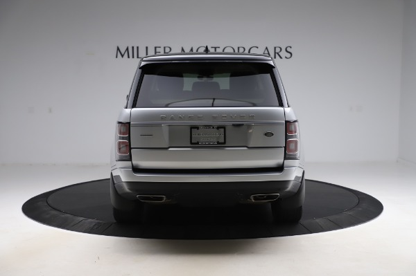 Used 2019 Land Rover Range Rover Supercharged LWB for sale Sold at Maserati of Westport in Westport CT 06880 6