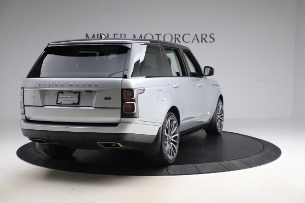 Used 2019 Land Rover Range Rover Supercharged LWB for sale Sold at Maserati of Westport in Westport CT 06880 7