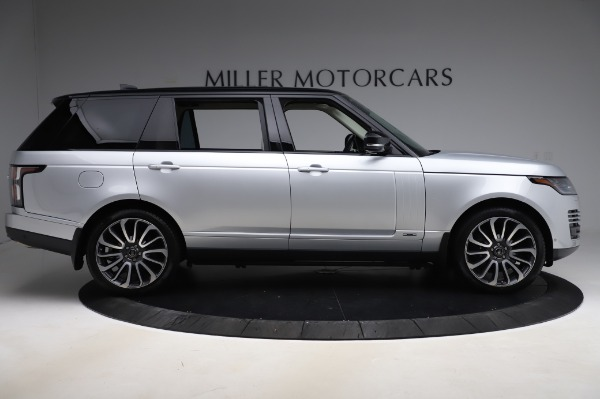 Used 2019 Land Rover Range Rover Supercharged LWB for sale Sold at Maserati of Westport in Westport CT 06880 9