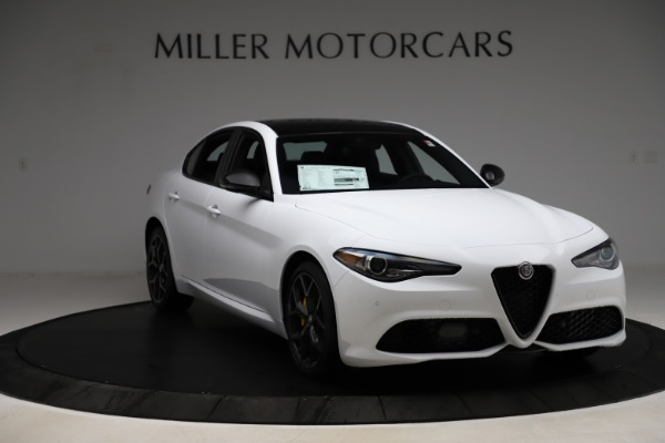 New 2020 Alfa Romeo Giulia Sport Q4 for sale $45,345 at Maserati of Westport in Westport CT 06880 11