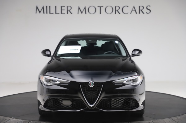 New 2020 Alfa Romeo Giulia Sport Q4 for sale $48,895 at Maserati of Westport in Westport CT 06880 12