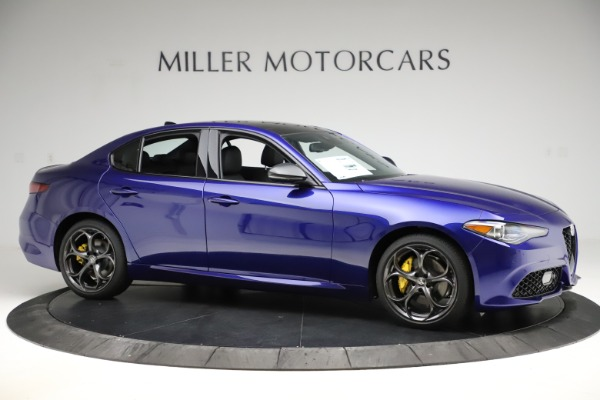 New 2020 Alfa Romeo Giulia Ti Sport Q4 for sale $47,995 at Maserati of Westport in Westport CT 06880 10