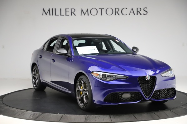 New 2020 Alfa Romeo Giulia Ti Sport Q4 for sale $47,995 at Maserati of Westport in Westport CT 06880 11