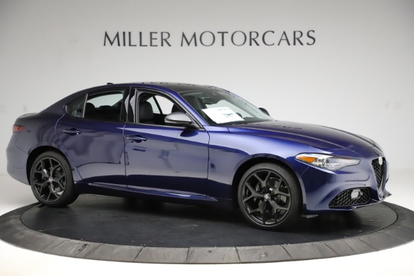 New 2020 Alfa Romeo Giulia Ti Q4 for sale $43,545 at Maserati of Westport in Westport CT 06880 10