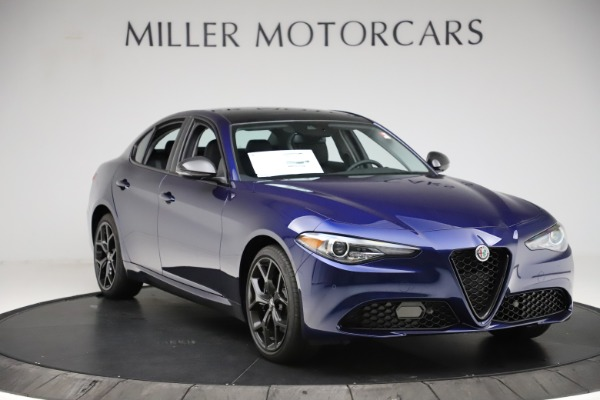 New 2020 Alfa Romeo Giulia Ti Q4 for sale $43,545 at Maserati of Westport in Westport CT 06880 11