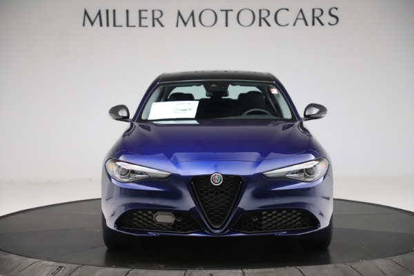 New 2020 Alfa Romeo Giulia Ti Q4 for sale $43,545 at Maserati of Westport in Westport CT 06880 12