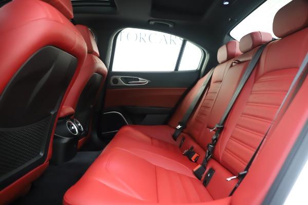New 2020 Alfa Romeo Giulia Ti Sport Q4 for sale $46,495 at Maserati of Westport in Westport CT 06880 19