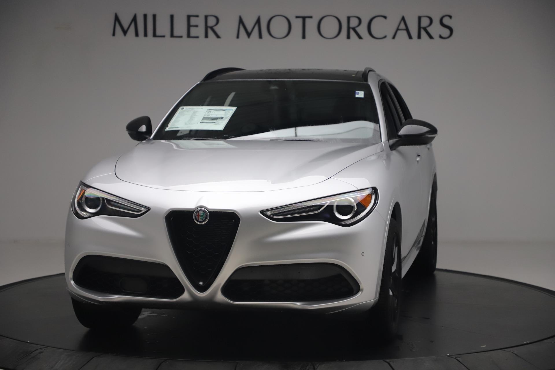 New 2020 Alfa Romeo Stelvio Ti Sport Q4 for sale $54,795 at Maserati of Westport in Westport CT 06880 1