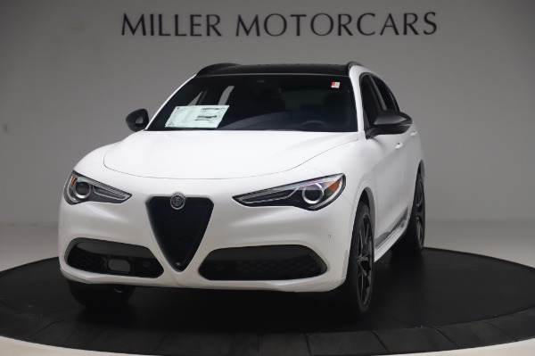 New 2020 Alfa Romeo Stelvio Ti Sport Q4 for sale $56,495 at Maserati of Westport in Westport CT 06880 1