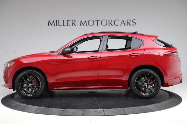 New 2020 Alfa Romeo Stelvio Ti Sport Q4 for sale $54,195 at Maserati of Westport in Westport CT 06880 2