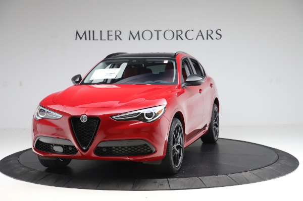 New 2020 Alfa Romeo Stelvio Ti Sport Q4 for sale $54,195 at Maserati of Westport in Westport CT 06880 1