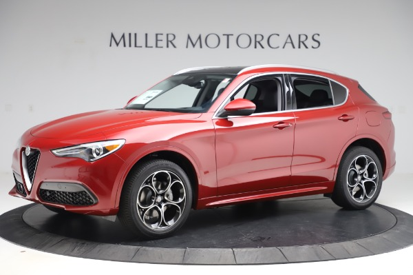 New 2020 Alfa Romeo Stelvio Ti Lusso Q4 for sale $56,495 at Maserati of Westport in Westport CT 06880 2