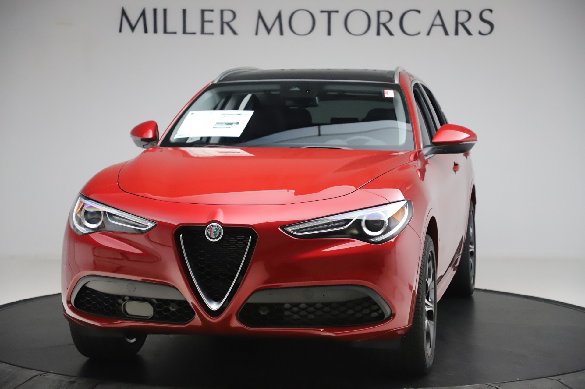 New 2020 Alfa Romeo Stelvio Ti Lusso Q4 for sale $56,495 at Maserati of Westport in Westport CT 06880 1