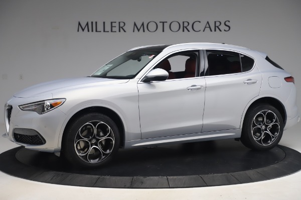 New 2020 Alfa Romeo Stelvio Ti Lusso Q4 for sale $54,145 at Maserati of Westport in Westport CT 06880 2