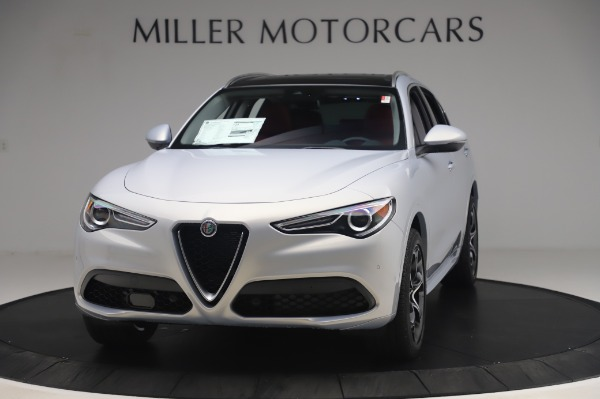 New 2020 Alfa Romeo Stelvio Ti Lusso Q4 for sale $54,145 at Maserati of Westport in Westport CT 06880 1