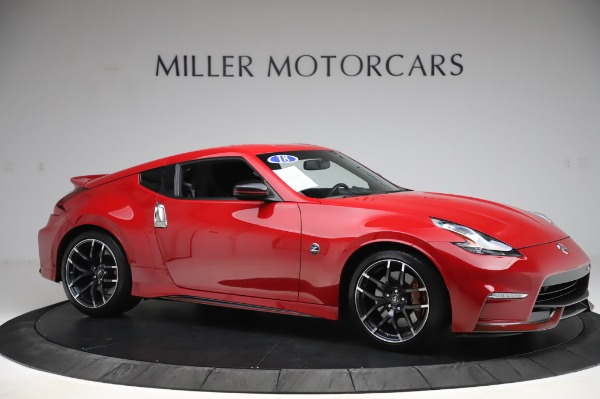Used 2018 Nissan 370Z NISMO Tech for sale $39,900 at Maserati of Westport in Westport CT 06880 8