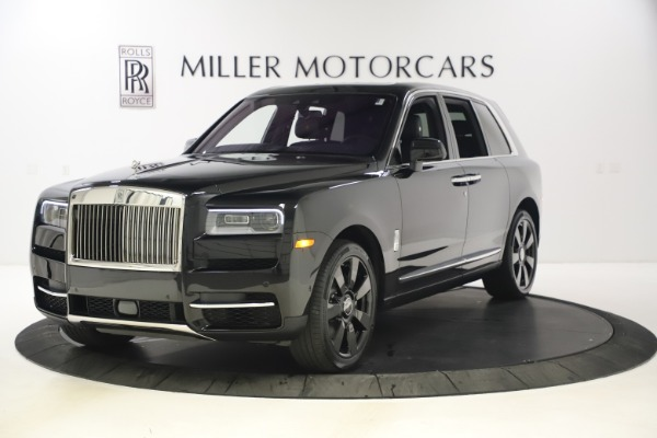 New 2021 Rolls-Royce Cullinan for sale $372,725 at Maserati of Westport in Westport CT 06880 1
