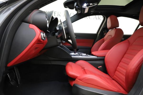 New 2020 Alfa Romeo Giulia Ti Sport Q4 for sale $48,595 at Maserati of Westport in Westport CT 06880 14
