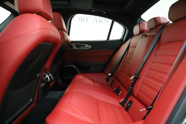 New 2020 Alfa Romeo Giulia Ti Sport Q4 for sale $48,595 at Maserati of Westport in Westport CT 06880 19