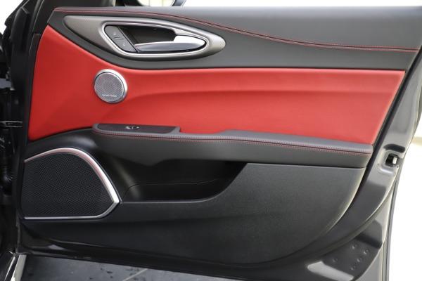 New 2020 Alfa Romeo Giulia Ti Sport Q4 for sale $48,595 at Maserati of Westport in Westport CT 06880 25