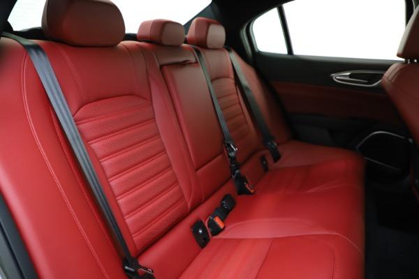 New 2020 Alfa Romeo Giulia Ti Sport Q4 for sale $48,595 at Maserati of Westport in Westport CT 06880 26