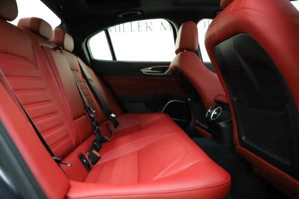 New 2020 Alfa Romeo Giulia Ti Sport Q4 for sale $48,595 at Maserati of Westport in Westport CT 06880 27