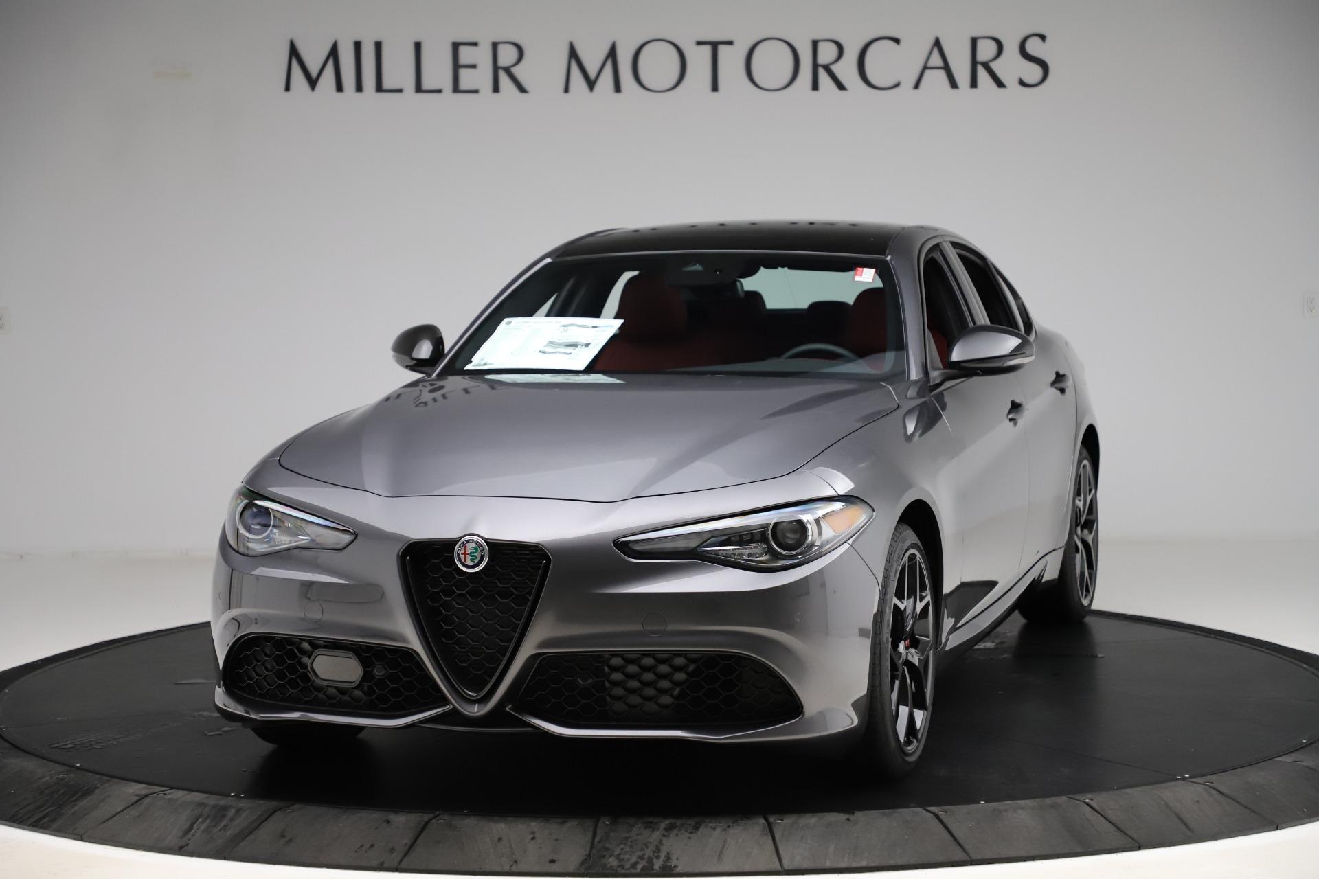 New 2020 Alfa Romeo Giulia Ti Sport Q4 for sale $53,595 at Maserati of Westport in Westport CT 06880 1