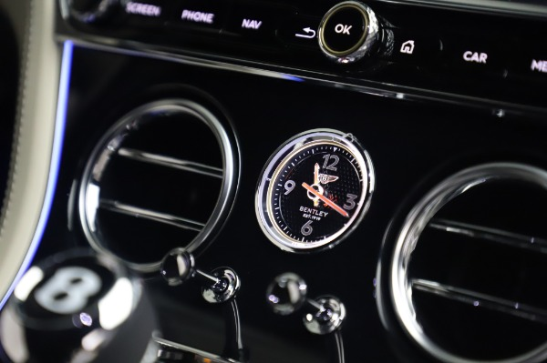 New 2020 Bentley Continental GT V8 First Edition for sale Call for price at Maserati of Westport in Westport CT 06880 26