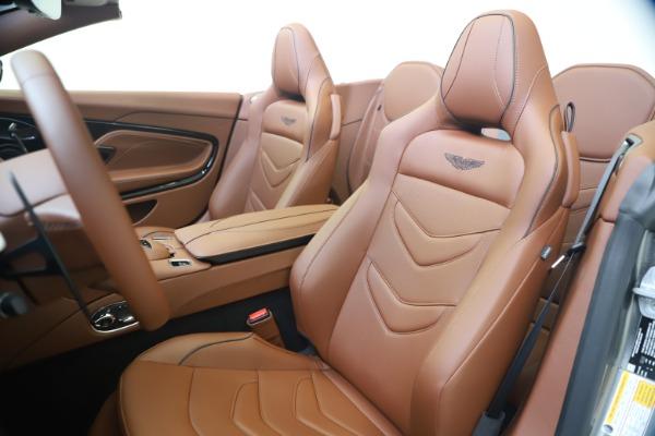 New 2020 Aston Martin DBS Superleggera Volante for sale $375,916 at Maserati of Westport in Westport CT 06880 16