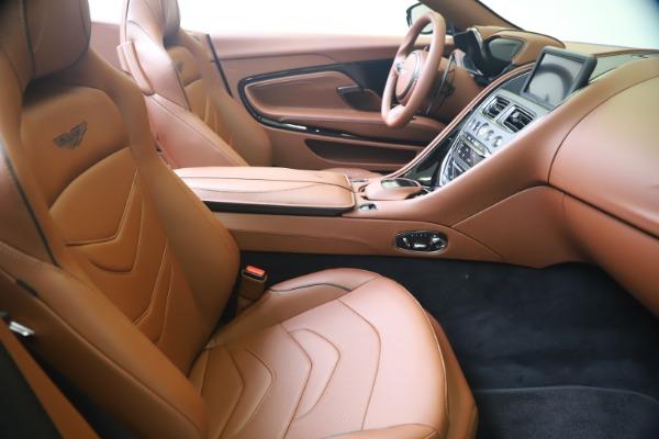 New 2020 Aston Martin DBS Superleggera Volante for sale $375,916 at Maserati of Westport in Westport CT 06880 22